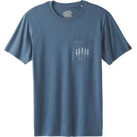 Prana Hollis Pocket - Camiseta manga corta Hombre - azul